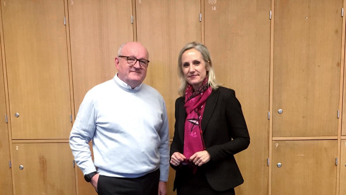 Praxisvortrag Herr Dietz von GFT Technologies SE Am Donnerstag, den 10.01.2019 durften wir Herrn Ulrich Dietz in der Vorlesung