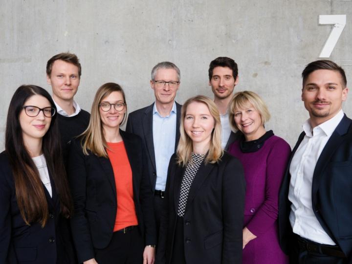 Lehrstuhl für Controlling - Teambild (02/2020) (c) LfC